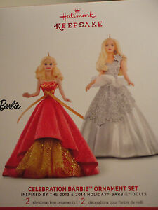 2015 Holiday Barbie  Ornament  NEW
