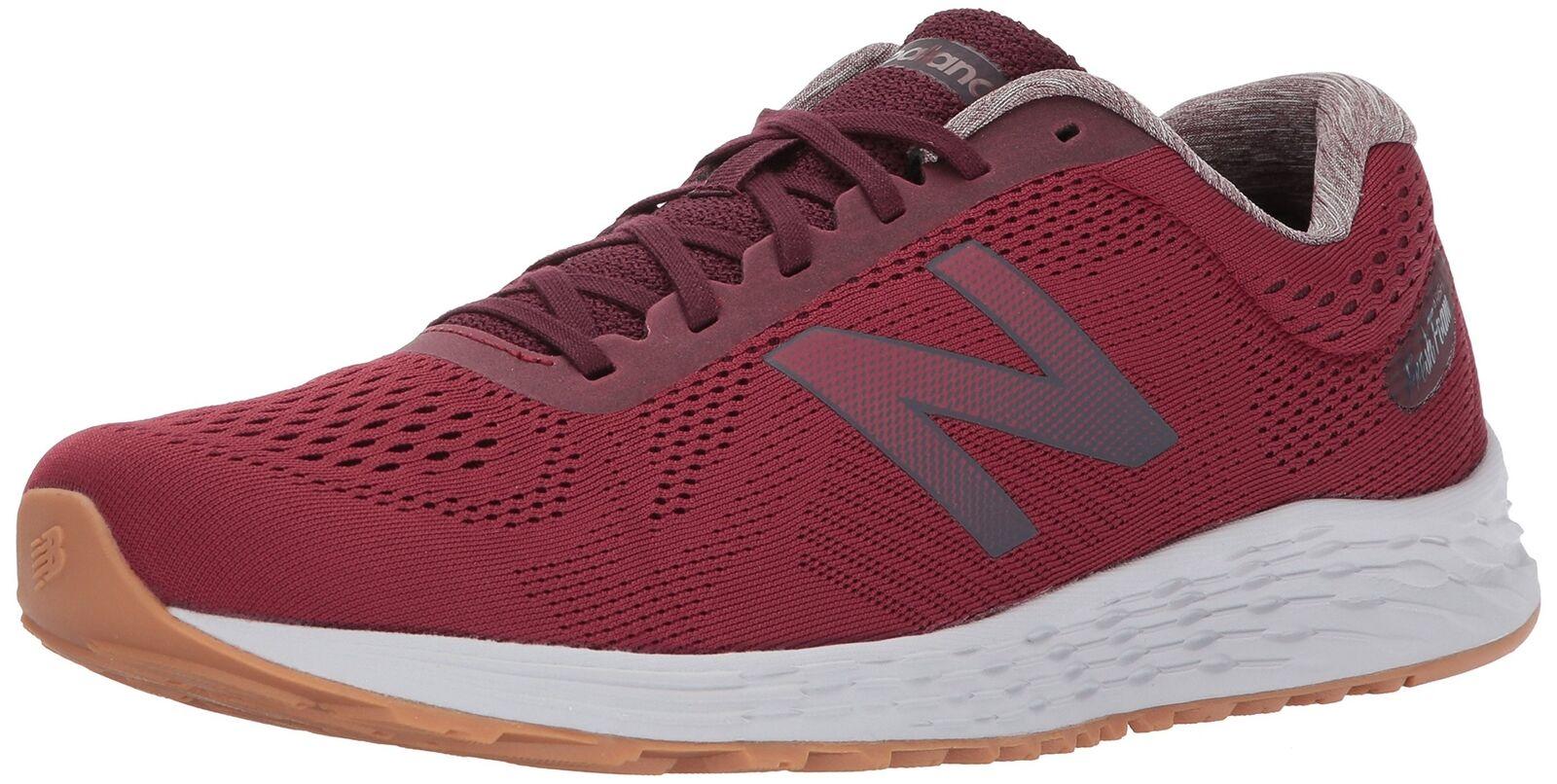 New Balance Men's Arishi V1 Running-shoes, Dark Red, 9.5 D US