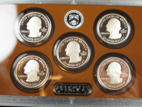 MINT PROOF SET 14 CLAD COINS ORIGINAL PACKAGING with CERTIFICATE P15 2013-S U.S