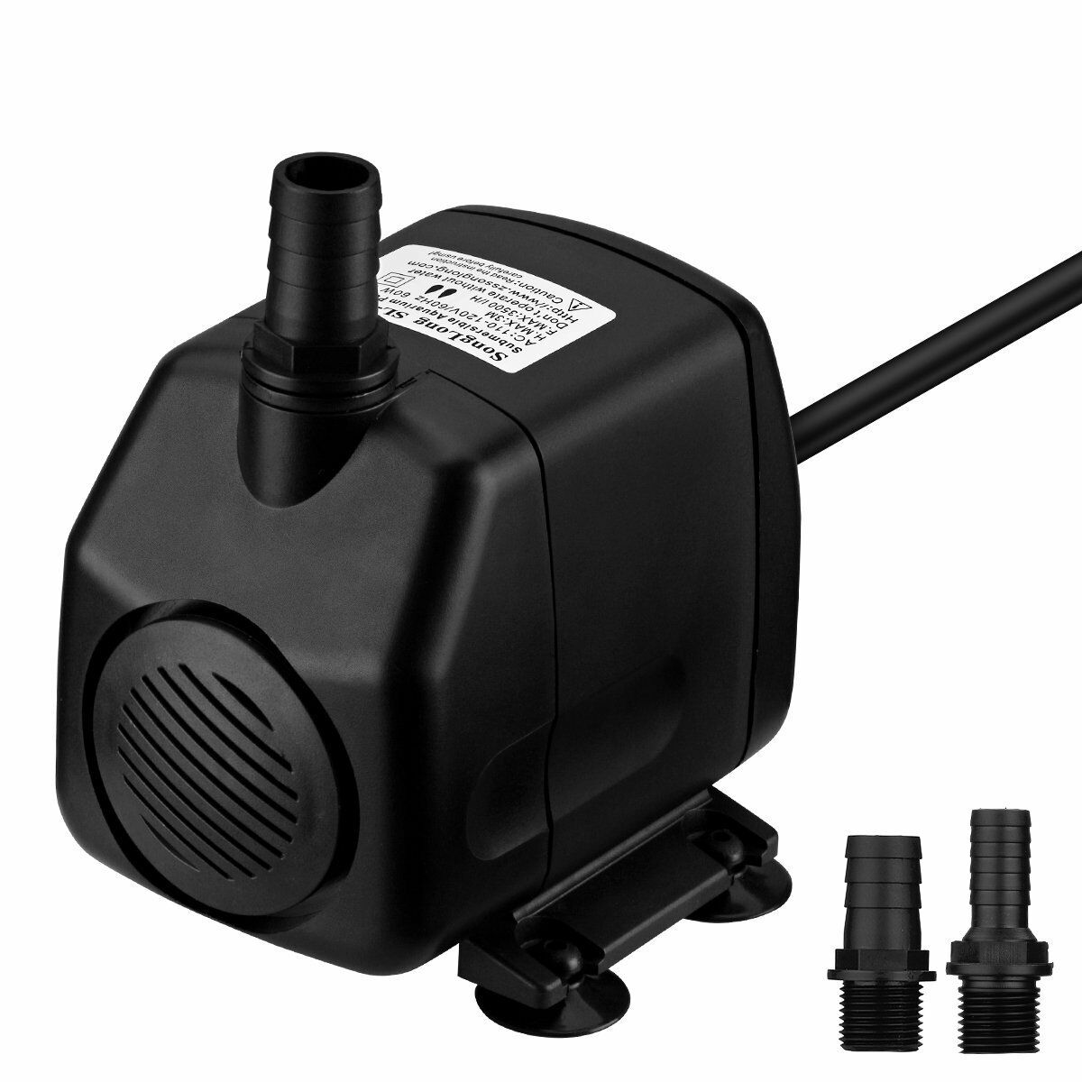 VicTsing 920 GPH Submersible Pump Foutain Water Pumps(60W, 5.9ft Power Cord, 9.8