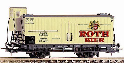 Piko h0 54891  camión de cerveza DRG  rojoh-cerveza  - época II