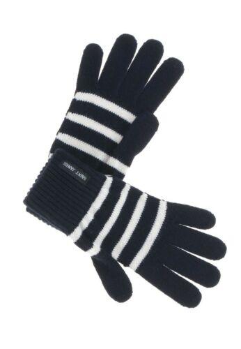 Saint James Handschuhe Winterhandschuhe Fingerhandschuhe Streifen Colombier
