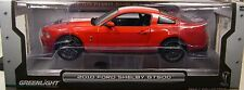 GREENLIGHT 1:18 SCALE DIECAST METAL TORCH RED 2010 SHELBY GT500 MUSTANG