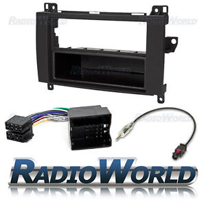 Mercedes-Benz-Sprinter-Stereo-Radio-Fitting-Kit-Fascia-Panel-Adapter-Single-Din