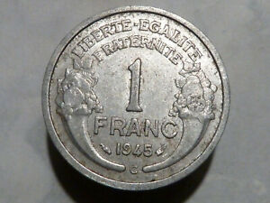 CIR10-398-1-FRANC-MORLON-Alu-1945-C-BELLE-QUALITE-TB-TB