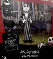 gemmy nightmare before christmas jack skellington airblown inflatable 5 ft