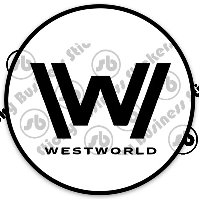 Truck Window 3 x Westworld Maze style 1 Vinyl Decal Sticker Laptop Tablet