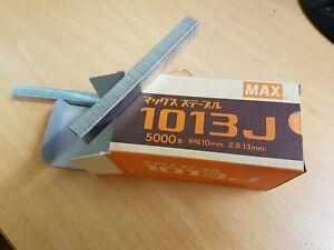 Max 1013J Industrial Staples. Crown 10mm, 13mm length
