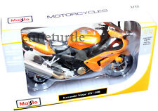 Maisto Kawasaki Ninja ZX-10R Motorcycle Bike 1:12 Diecast Orange  31105