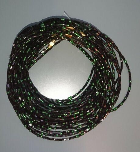 Beautiful African Waist bikini Beads 3 Strands per set Sizes more than 60 Inches