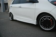 NEFD Design Side Skirt Unpainted Parts For KIA Picanto Morning 2011 2015