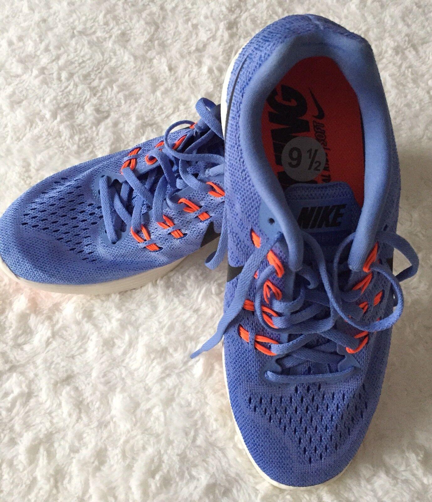Nike Lunartempo 2 Light Weight Purple Running shoes Size 9,5 Women's