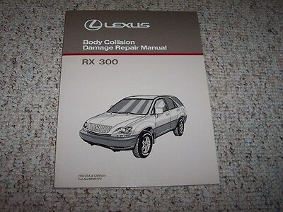 1999 Lexus RX 300 RX300 Body Collision Service Repair Manual