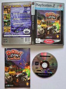 Ratchet & Clank 3 PLATINUM (Playstation 2 PS2, PAL) Video Game ORIGINAL