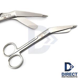 Medical-Small-Lister-Bandage-Scissors-13cm-Surgical-Nursing-Bandages-Curved-New