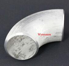 "1.5"" 38mm OD 90 Degree Elbow 304 Stainless Steel Schedule 10 Wastegate 0.11"""
