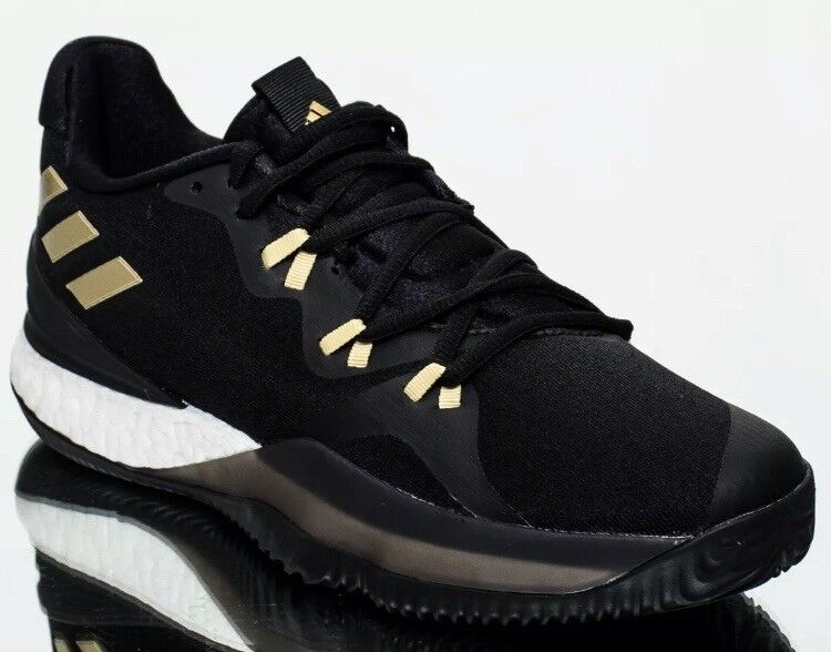 Adidas Crazy Light Boost 2018 Men Core Black gold Metallic Ac8365 Mens Size 19