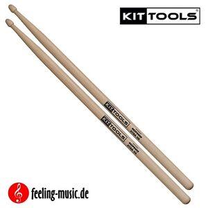 2-Paar-KitTools-Drumsticks-Hickory-Xtra-5B-KIR5BX