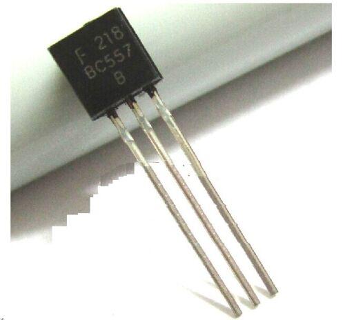 100pcs New BC557B BC557 PNP Transistor TO-92 New Good Quality