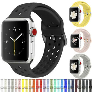 Silicone-Sports-Wrist-Band-Strap-For-Apple-iWatch-Series-5-4-3-2-1-38-42-40-44mm