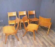 Stuhl Chair mid century modern Loft Industrie Fabrik Design 50s 50er vintage 2v6