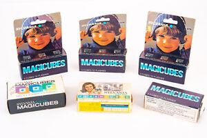 Vintage Sylvania Blue Dot Flashcubes 6 Packages 18 Cubes 54 Flashes V16