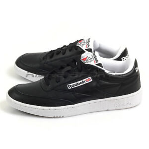 081a4cd0a2a166 Puma Club C 85 Pro Black White Leather Classic Lifestyle Sneakers ...