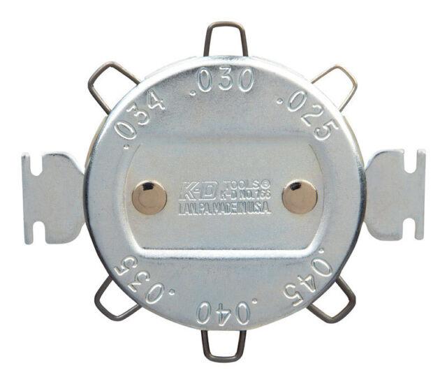 KD Gearwench  SPARK PLUG GAP GAUGE 166d Measures spark plug gaps