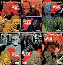 WALKING DEAD #157-162 WHISPER WAR COMPLETE REGULAR SET! PLUS 156 DEATH OF ALPHA!