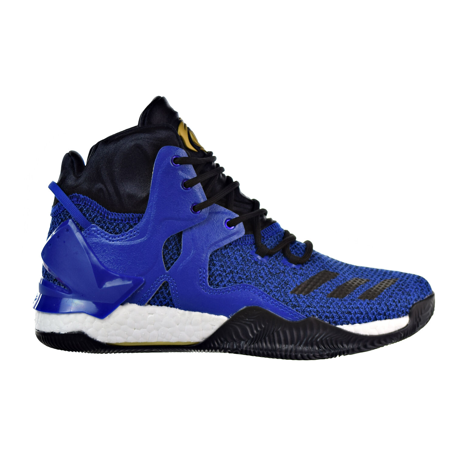 Adidas D Rose 7 Men's Shoes Blue Solid/Black/Metallic Gold bb8290