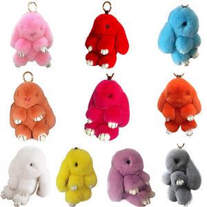 Copenhagen Real Bunny Rex Rabbit Furs Phone Car Handbag Pendant ... e08203a04