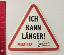 Aufkleber/Sticker: Ich Kann Länger - Lotto - Online (1704165)