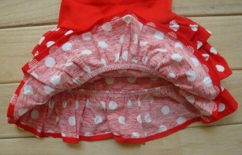 Seppala baby Festive Girl Red Polka Dot Skirt Size NB.3M.6M.12M.18M