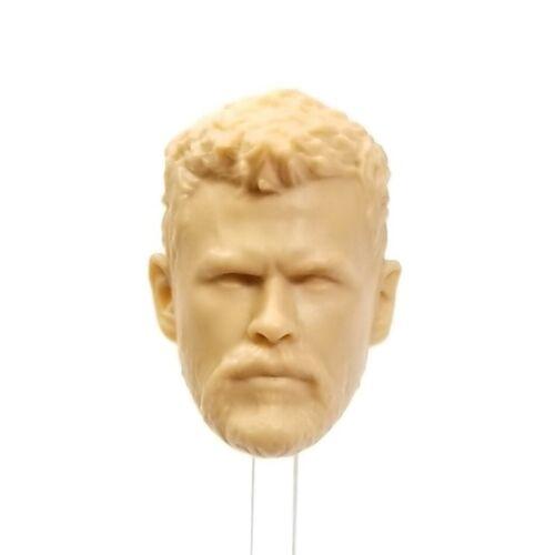 Mezco THOR Ragnarok Chris Hemsworth 1//12 Unpainted Head Only HS009