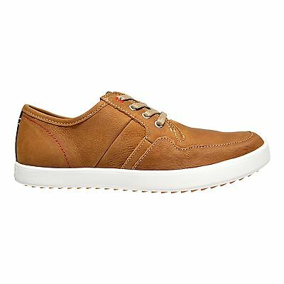 Hush Puppies Hanston Roadside Men's Leather Casual Lace Up Oxford Shoes Tan