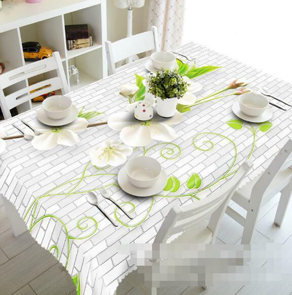3D Flowers 521 Tablecloth Table Cover Cloth Birthday Party Event AJ WALLPAPER AU