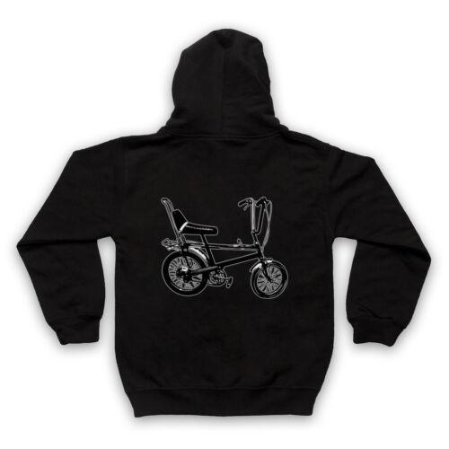 Chopper Bike Cool Rétro Vintage Vélo Guidon Cool Adultes Enfants Sweat à capuche