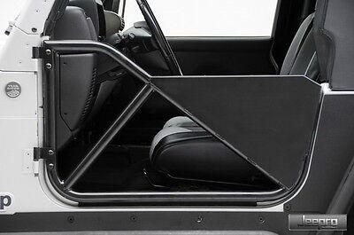 SmittyBilt 76791 SRC Front Tubular Doors Fits Jeep 07-15 Wrangler JK -2/4 Door