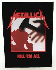 METALLICA BACKPATCH / SPEED-THRASH-BLACK-DEATH METAL