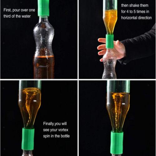 Flaschentornado Flaschen Wirbelrohr Tornadoadapter Experiment 10 stk