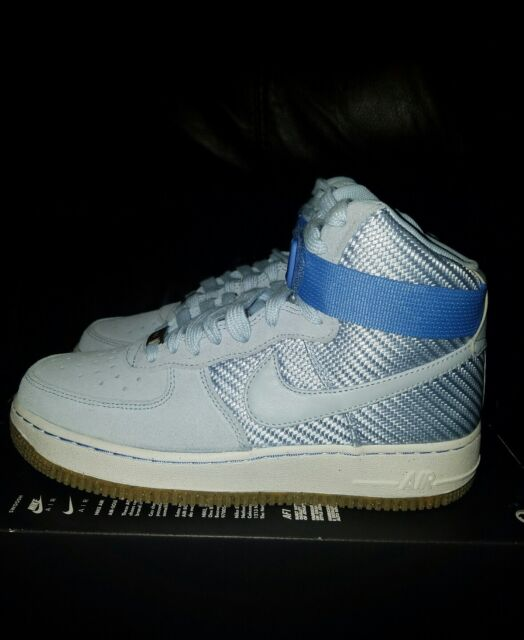 Nike Women's Air Force 1 Hi PRM Porpoise Basketball Shoe BOOTS Size 8 NWB