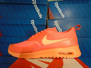 los angeles 07852 f41a7 Image is loading WMNS-NIKE-AIR-MAX-THEA-HOT-LAVA-SUNSET-