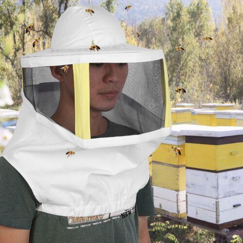 Protective Bee Keeping Hats Veil Anti Bee Net Cap Apiculture Beekeeper Equipment