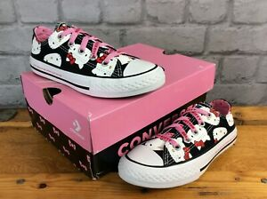 CONVERSE-CTAS-HELLO-KITTY-CANVAS-LO-TRAINERS-GIRLS-CHILDRENS-T