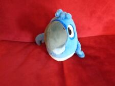 """2011 8"""" OFFICIALLY LICENSED ANGRY BIRDS BLUE BIRD RIO MOVIE PLUSH DOLL FIGURE"""