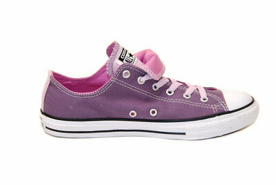 Converse Junior Chuck Taylor All Stars Sneakers Purple Size UK 3 RRP £39 BCF712