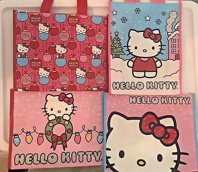 Snowflake Hello Kitty Christmas Gift Bag Sanrio