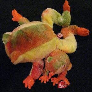 9fc33696e3d Image is loading Ty-Prince-Frog-Beanie-Baby-and-Beanie-Buddy-