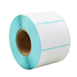 Autocollant-auto-adhesif-d-039-etiquettes-blanches-vierges-blanches-de-500