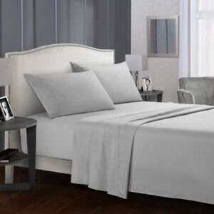 Full-Size-Bed-Sheet-Set-Brushed-Microfiber-Sheets-Bedding-3-4-Piece-Pillow-Case